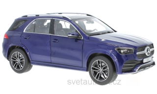 Mercedes-Benz GLE (V167) brillant blue 1:18 Norev