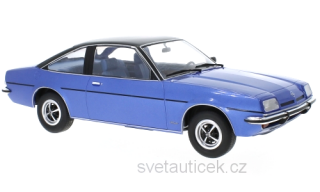 Opel Manta B Berlinetta 1975 blue 1:18 MCG Modelcar Group