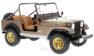Jeep CJ-7 golden Eagle 1980 brown 1:18 MCG Modelcar Group