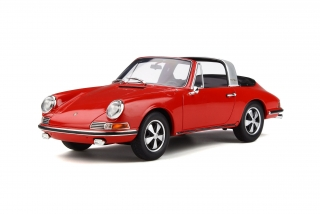 Porsche 911 Targa red 1:18 GT Spirit