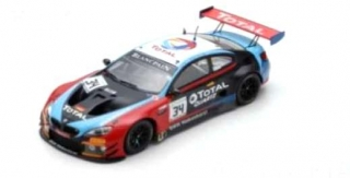 BMW M6 GT3 Walkenhorst Motorsport #34 Winner 24H Spa 2018 1:18 Spark