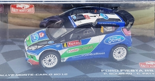 Ford Fiesta RS WRC #4 Solberg/Patterson Rally Monte Carlo 2012 1:43 Altaya