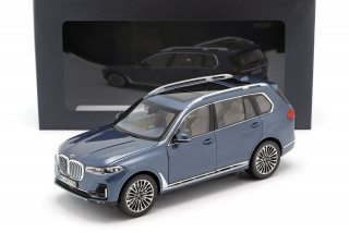 BMW X7 2019 grey 1:18 BMW Collection