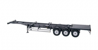 Semitrailer EU for containers 1:18 NZG