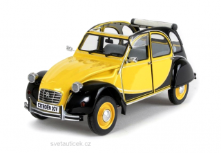 Citroen 2CV Charleston yellow/black 1:8 Premium X