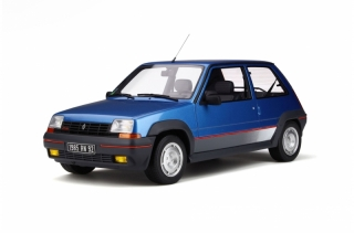 Renault 5 GT Turbo Ph.1 1986 blue 1:12 OttOmobile