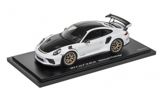 Porsche 911 GT3 RS Weissach Package white/black 1:12 Spark