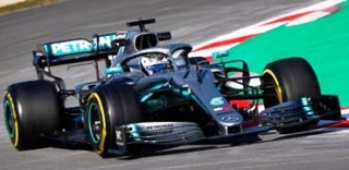 Mercedes-AMG Petronas W10 EQ Power+ #77 V.Bottas TBC 2019 1:43 Spark