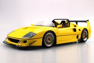 Ferrari F40 LM Beurlys Barchetta Spider 1989 yellow 1:18 Top Marques