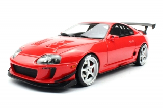 Toyota Hoonigan Supra 5-Spoke Wheels renaissance red 1:18 Top Marques