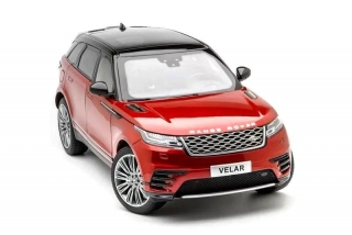 Land Rover Range Rover Velar 2018 red metallic 1:18 LCD Model