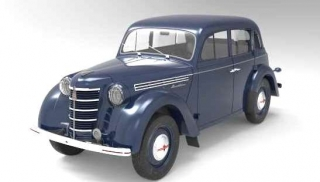 Moskvich 400-420 1954 dark blue 1:18 Premium Scale Models