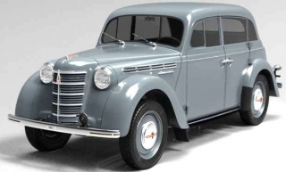 Moskvich 400-420 1946 grey 1:18 Premium Scale Models