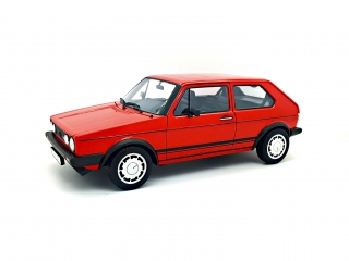 Volkswagen Golf I GTi red 1:18 Welly