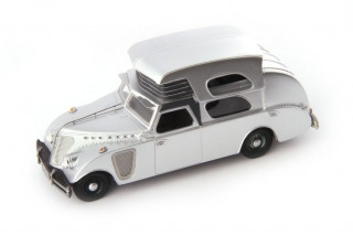 Thompson House Car 1934 silver metallic 1:43 AutoCult