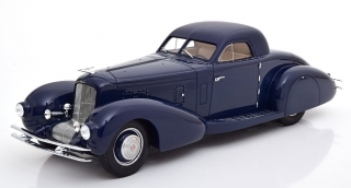 Duesenberg Model J Walker Aerodynamic Coupe 1935 dark blue 1:18 CMF