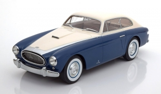 Cunningham C-3 Continental Sports Coupe 1952 white/dark blue 1:18 CMF