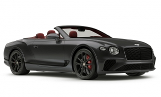 Bentley Continental GT Convertible Anthracite Satin 1:43 Look Smart