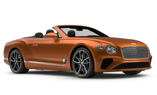 Bentley Continental GT Convertible Orange Flame 1:43 Look Smart