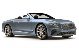 Bentley Continental GT Convertible Silverlake 1:43 Look Smart