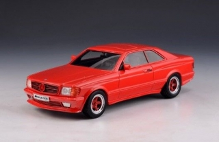 Mercedes-Benz AMG C126 6.0 1984 red 1:43 GLM Models