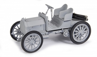 Mercedes 35 HP white 1:18 Schuco