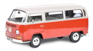 Volkswagen T2a Bus L red/white 1:18 Schuco