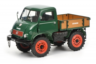 Mercedes-Benz Unimog 401 green 1:18 Schuco