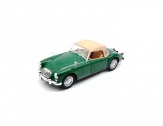 MGA MKI Twin Cam closed soft top & Dunlop peg drive wheels 1959 1:18 Triple9 Collection