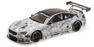 BMW M6 GT3 Presentation Spa 2015 1:18 Minichamps
