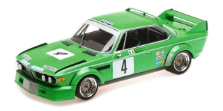 BMW 3.0 CSL Jolly Club Milano #4 Finotto/Facetti Winners ETCC Zandvoort 1979 1:18 Minichamps