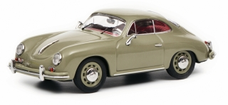 Porsche 356 A Coupe grey 1:43 Schuco