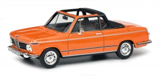 BMW 2002 Cabrio Baur orange 1:43 Schuco