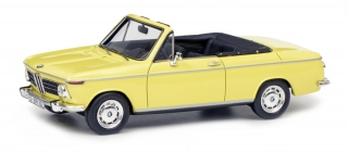 BMW 2002 Cabrio yellow 1:43 Schuco