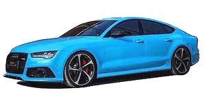 Audi A7 RS7 Sportback Performance 2016 blue 1:18 Motorhelix