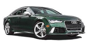 Audi A7 RS7 Sportback Performance 2016 green 1:18 Motorhelix