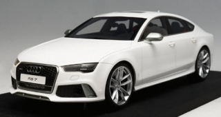 Audi A7 RS7 Sportback Performance 2016 white 1:18 Motorhelix