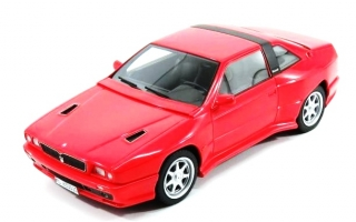 Maserati Shamal 1989 with Showcase red 1:18 KESS Model