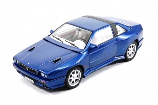 Maserati Shamal 1989 with Showcase blue 1:18 KESS Model