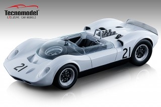 McLaren Elva Mark 1 #21 Graham Hill Guards Trophy Brand Hatch 1964 1:18 Tecnomodel