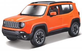 Jeep Renegade 2017 red 1:24 Maisto