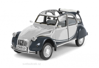 Citroen 2CV Charleston grey/black 1:8 Premium X