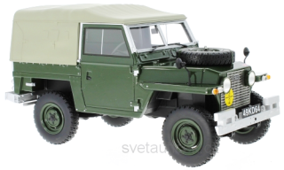 Land Rover Lightweight series IIa RHD 1968 olive 1:18 Bos Models