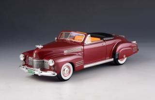 Cadillac Series 62 Convertible Open 1941 bordeaux 1:43 GLM Models
