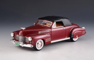 Cadillac Series 62 Convertible Closed 1941 bordeaux 1:43 GLM Models