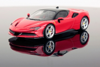 Ferrari SF90 Stradale Rosso Corsa/Nero DS 1250 1:43 Look Smart Models