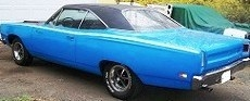 Plymouth Road Runner 1969 Petty blue 1:18 Auto World