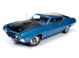 Ford Torino Cobra Fastback 1970 medium blue metallic 1:18 Auto World
