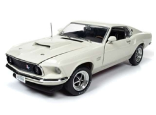 Ford Mustang Boss 429 50th Anniversary & MCACN 1969 Wimbledon white 1:18 Auto World