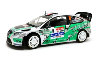Ford Focus WRC RS #8 J.-C.Beaubelique Rally Touquet 2012 1:18 Sun Star